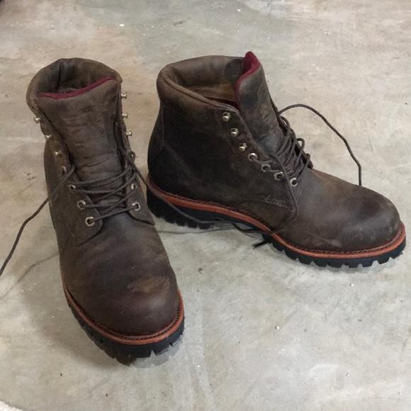 bba46fff04e L.L. Bean Chippewa Katahdin Iron Works Boots sz 11